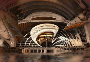 Subterranean Tunnel by HalTenny