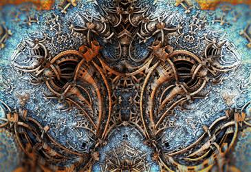 Metal Sculpture 2 by HalTenny
