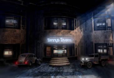 Tennys Tavern by HalTenny
