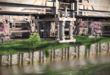 Riverside Pavilion by HalTenny