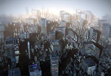 Ebony City by HalTenny