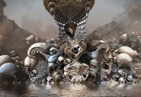 Skull Island by HalTenny