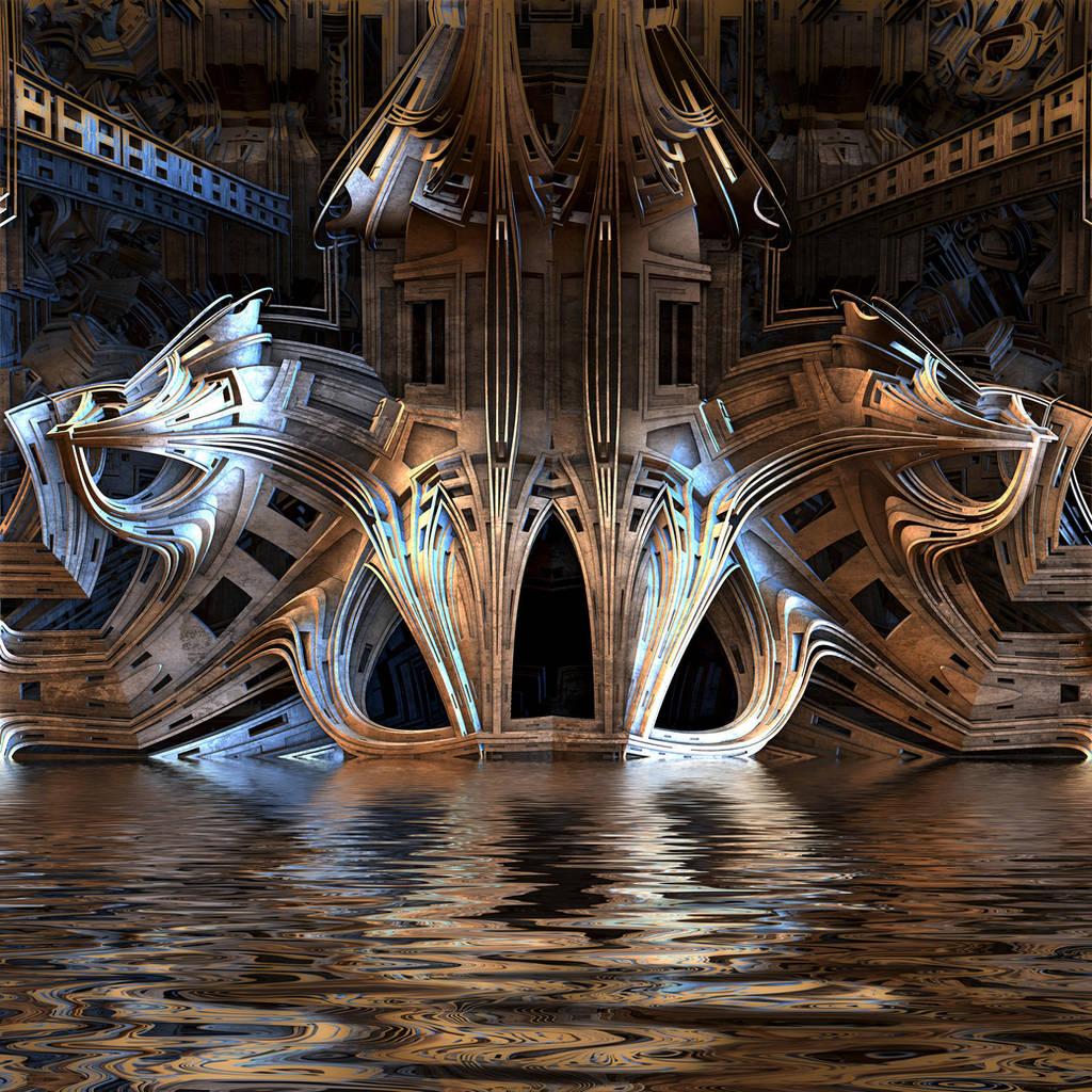 Curvy Castle by HalTenny