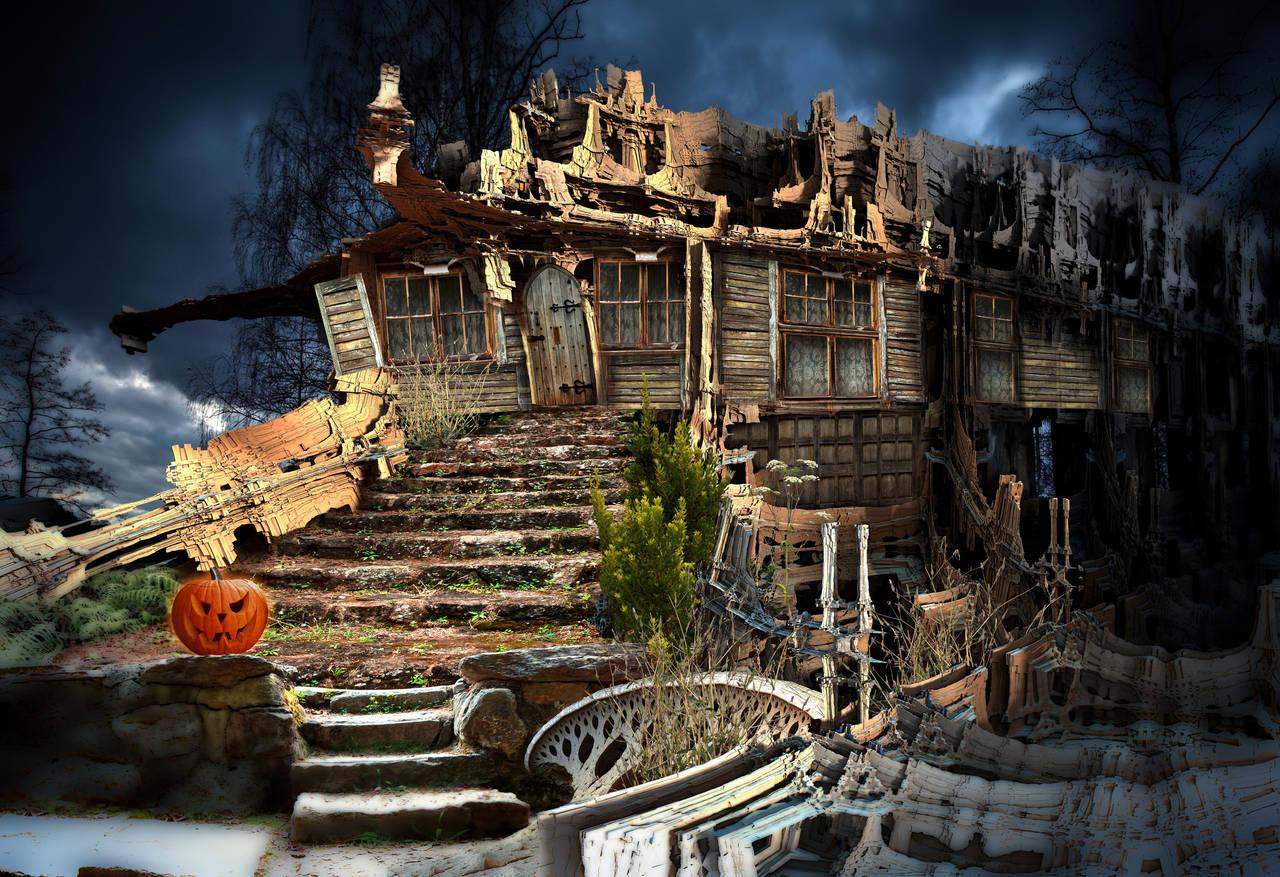 Spook House by HalTenny