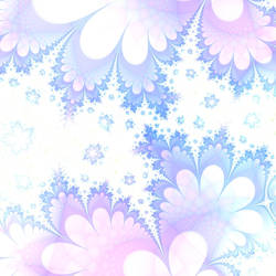 Fractal Snowflakes by HalTenny
