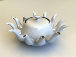 Teapot Nataraja by Djohaal