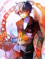 Persona 5 Protagonist by LadyKuki