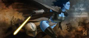 Chiss Jedi by sugarsart