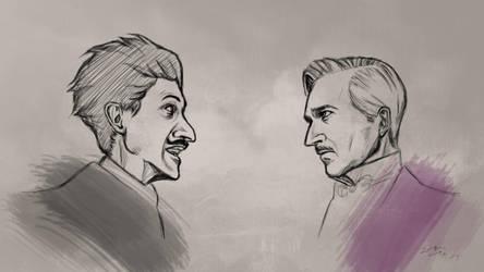 Dmitri and Gustave by ggkom