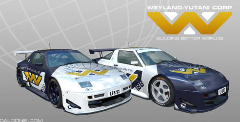Weyland-Yutani Corp Racing Team by DaLoonie