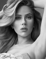 Scarlett Johansson by Krazmuth