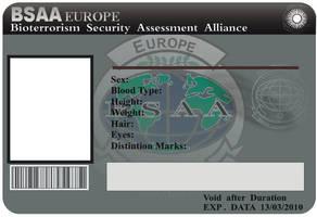 BSAA Card by kaiserfly