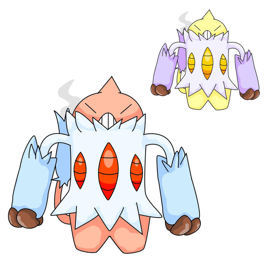 Fakemon Puffeete By Poot The Magikarp On Deviantart