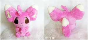 Shiny Minccino Pokedoll by d215lab