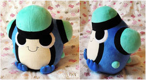 Palpitoad Plush by d215lab