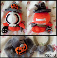 Halloween Duskull Plush by d215lab