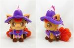 Halloween vulpix plush by d215lab