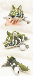 Wolf Link Plush by d215lab