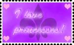 I love princesses stamp by Major-Link