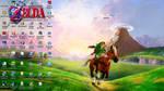 Zelda OoT3D Desktop Screenshot by Major-Link