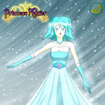 Negami Toshiba - Princess Fighter of Ice by Major-Link