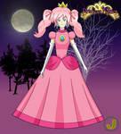Halloween 2016 - Hitoshi as Princess Peach by Major-Link