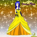 Saya Akina - Princess Fighter of Sunflowers by Major-Link