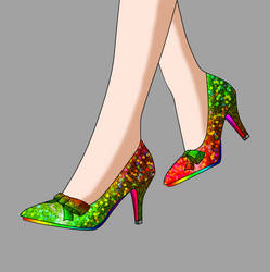 Christmas Pumps Concept A by Major-Link