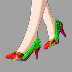 Christmas Pumps Concept A1 by Major-Link