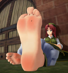 No.110 giantess meilling by 5nbe