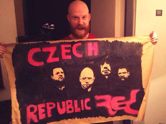 Mike with my poster by Minato1993