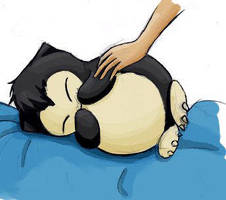 Baby Snorlax by kayanne21