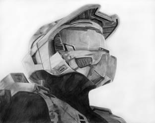 Master Chief Portrait by Eightfold-Studios