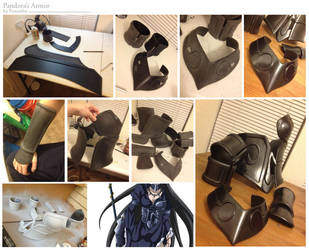 Pandora's Armor WIP by Foayasha