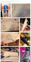 Lan Fan Automail WIP Comp 4: Arm by Foayasha