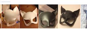 Cat Woman Mask WIP Comp by Foayasha