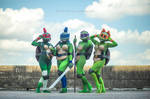 TMNT Rule 63 - Comicpalooza 2014 1 by Foayasha
