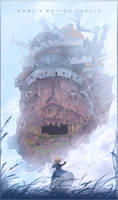 Howl's Castle by Gokupo101