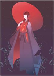 Lady Eboshi by Gokupo101