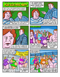 Plus Size Pool Party by Geephead