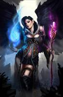 Aasimir Sorceress Kirrilidian  (Commission) by Devtexture