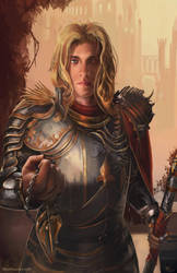 Oathbreaker Paladin [Commission] by Devtexture