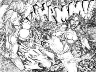 11 She hulk Kick by toegar