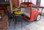 Cafe Car Seat, Nafplio by bobswin