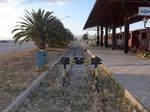 Sun Sets on the Railway, Nafplio by bobswin