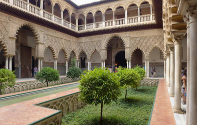 The Alcazar, Seville (4) by bobswin