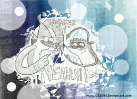 YEAHUH- Regular show by gabs94