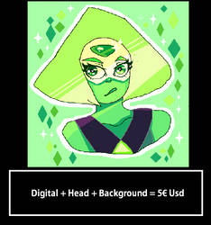 Traditional + Head plus Background by COSTANINA