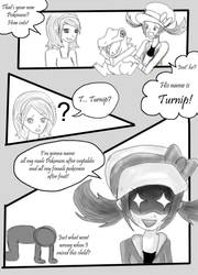 Legs Adventures Page 1 by MarrilandComics