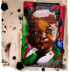 Electric child by Anjarockz